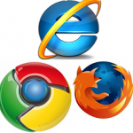 IE9 Firefox Chrome