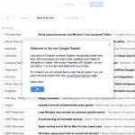 Google Reader isi schimba interfata