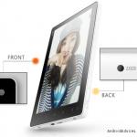 Ainol NOVO 7 prima tableta cu Android 4.0