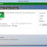 Adaugare optiune scanare cu Windows Defender in meniul click dreapta Windows 8